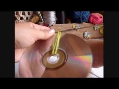Croche - Jogo Americano com Cds - Parte 01.03