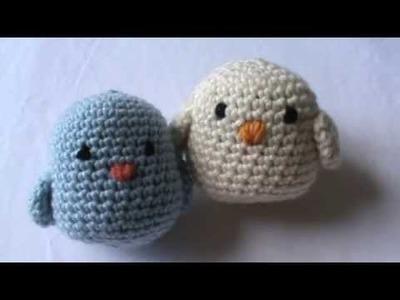 Croche passarinhos amigurumi parte 1