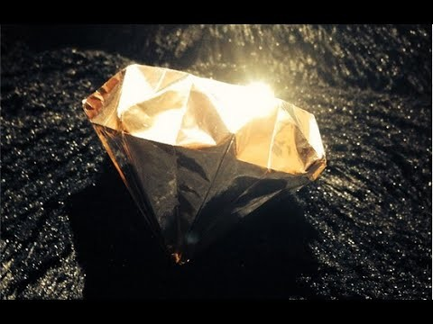 Diamante de origami - 3D Diamond ダイヤモンド