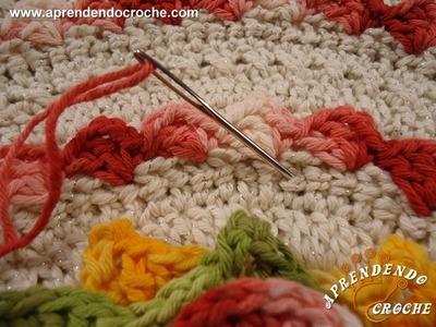 Dica - Arremate com fio curto - Aprendendo Crochê