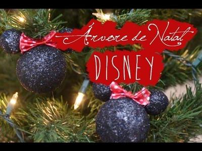 DIY: Árvore de Natal Disney - Bolinhas Minnie ou Mickey
