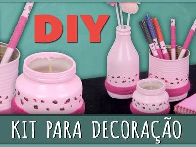 Kit para Decoração =DiY - Especial 'Dia das Mães '
