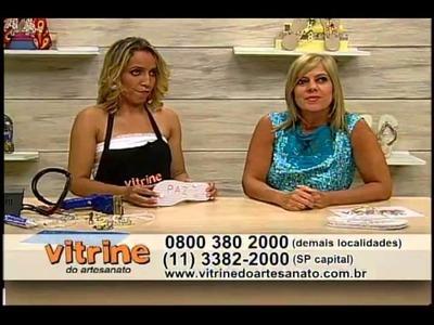 Máquina Mafrisa e customização com Andreia Bassan - Vitrine do Artesanato na TV