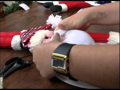 Mulher.com - 07.11.2012 - Amanda Lousada - Relógio Papai Noel 02