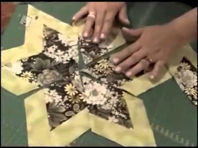 Patchwork Ana Cosentino: Estrela de 6 Pontas