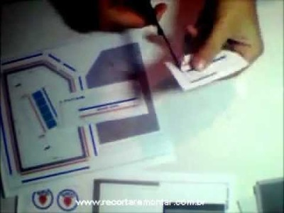 Recortar e Montar Papercraft - Miniatura GS001 - Video 1 - Recortando.wmv
