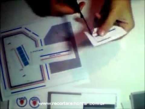 Recortar e Montar Papercraft - Miniatura GS001 - Video 1 - Recortando.wmv