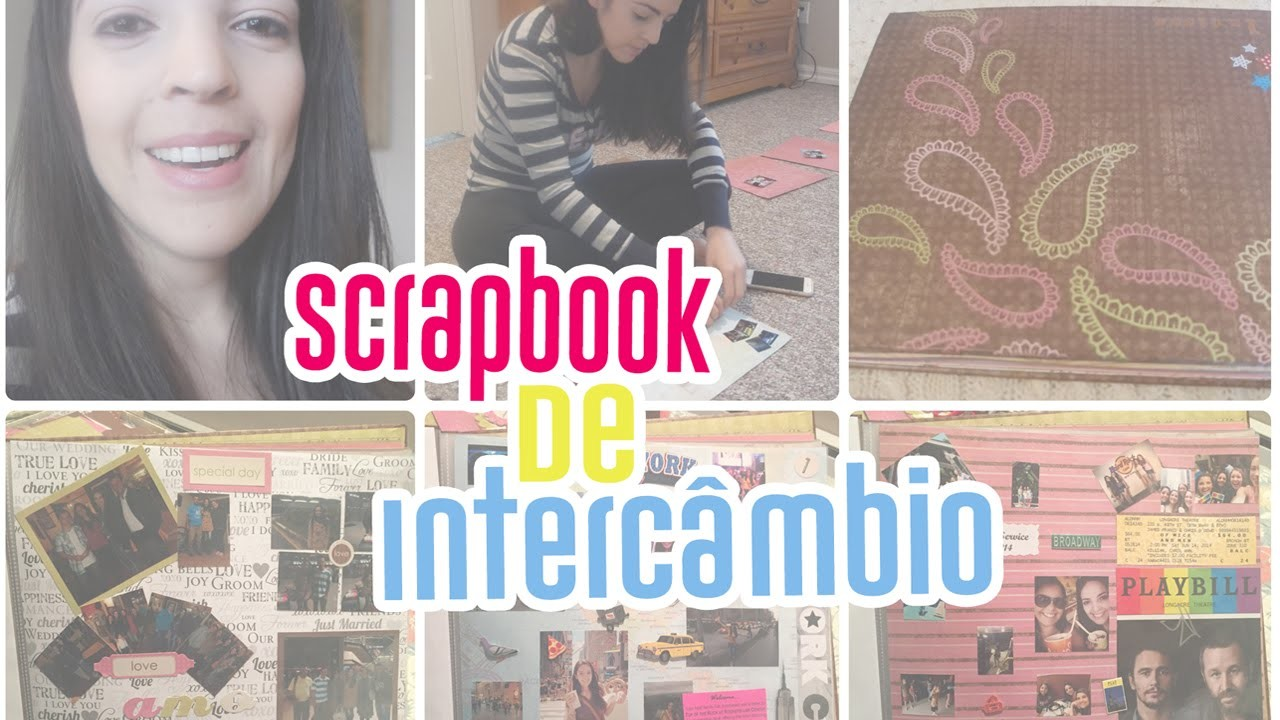 Scrapbook de Intercambio - Dicas, Como fazer, O que usar #9 | Larissa Vale