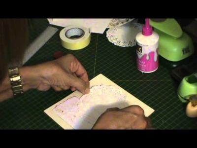 SCRAPBOOKING: Convite de casamento tutorial parte 1