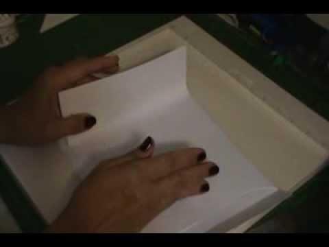 SCRAPBOOKING: Tutorial álbum com envelopes parte 1