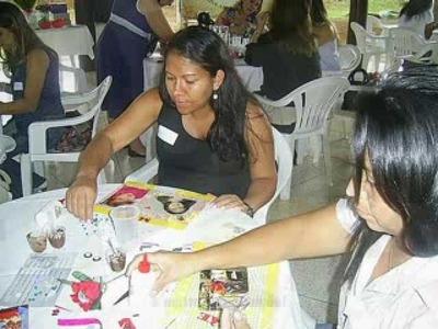 Workshop de Scrapbooking - Papel Mais Artes
