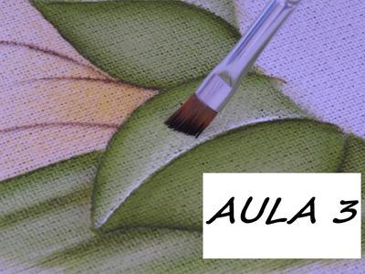 Aula 3 - Como pintar uma folha simples!