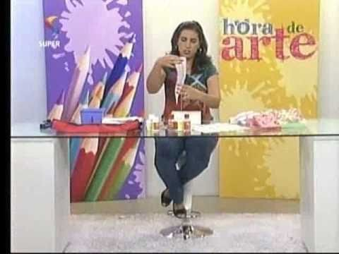 Caixa com Decoupage de Guardanapo e Entrevista Mãos de Minas - Hora de Arte - Arte Fácil
