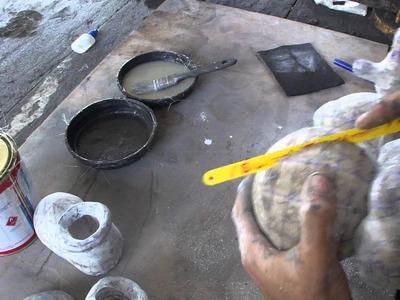 Como resinar papercraft - parte 15 - overdosegamer.blogspot.com.br