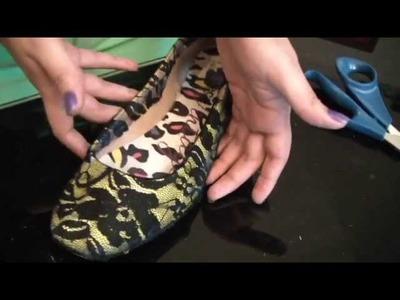 Customização de sapatilhas