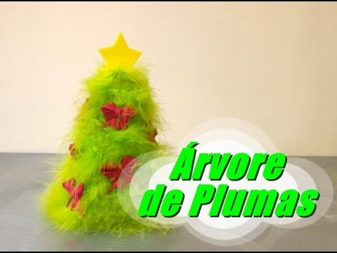 DIY.: Árvore de Plumas - Recycled Art