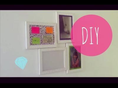 DIY: Como fazer porta retrato divertido - Decoração de quartos