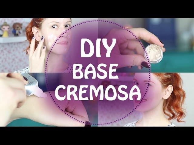 DIY - Faça você mesmo - Base cremosa extra leve