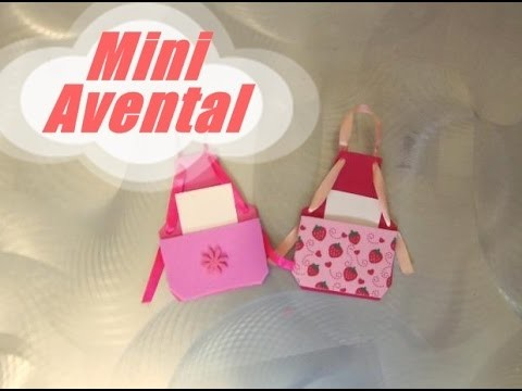 DIY.: Mini Avental - E.V.A art