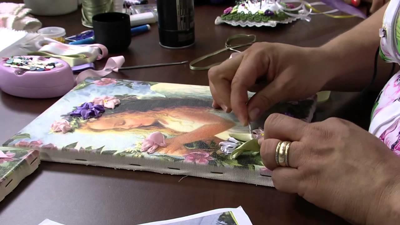 Mulher.com 26.11.2013  - Bordado na Tela - Valéria Soares