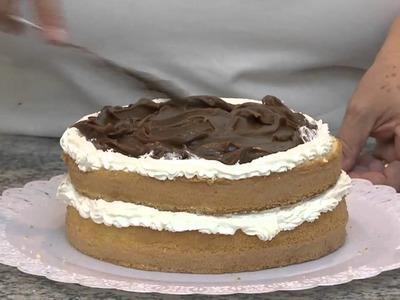 Mulher.com - Receita bolo de vitrine