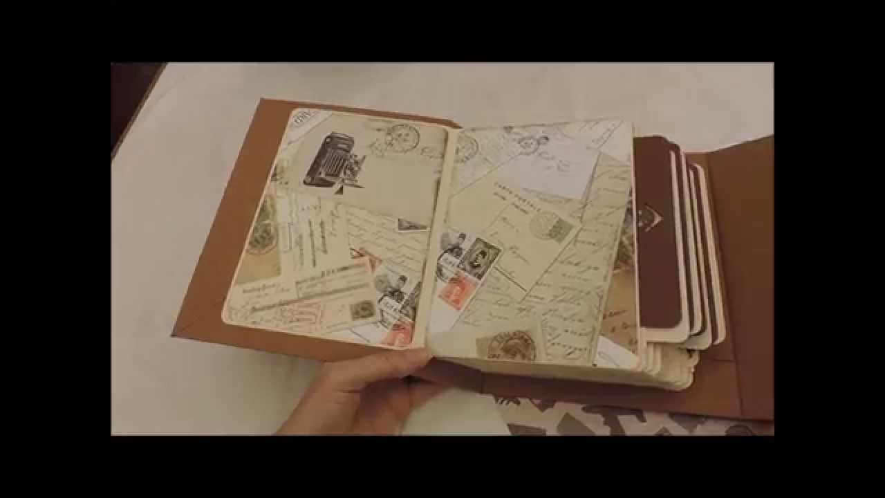 Scrapbook - Álbum viagens - Atelier Bela Arteira