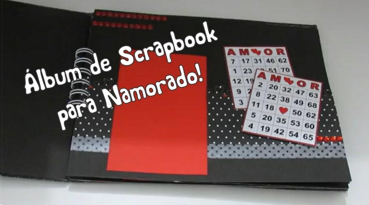 Álbum Scrapbook para Namorado