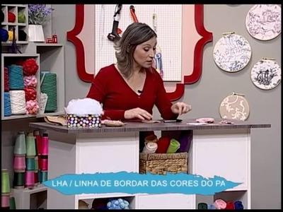 Alfinetero de feltro - Donuts