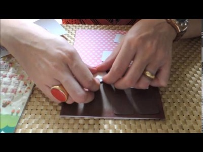 Cartão Chocolate - Tutorial DIY