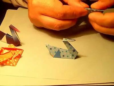 Como fazer um CISNE de papel ORIGAMI