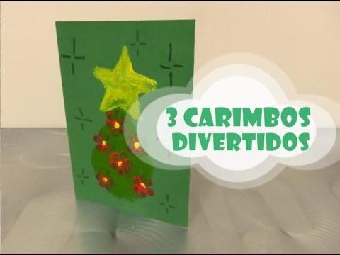 DIY.: 3 Carimbos divertidos - Craft Kids