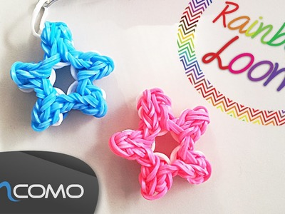 Estrela - Rainbow Loom ( Sem Tear )