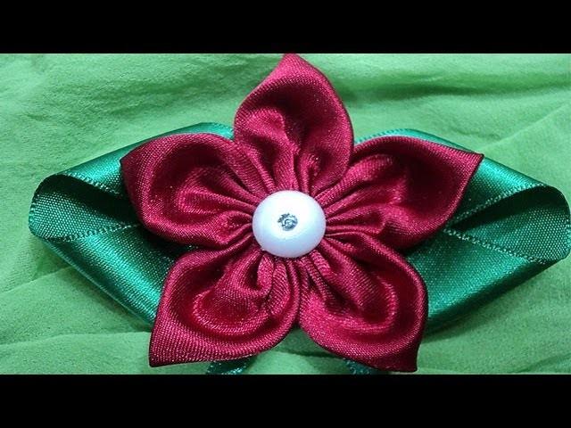 Flor de tecido | Passo a Passo - DIY