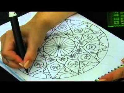 Mandala Geométrica de 6.12 divisões