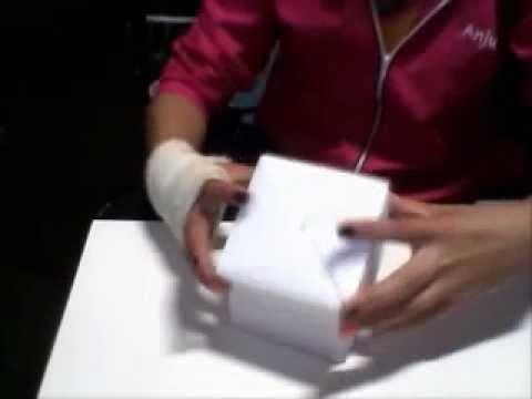 Origami-Caixa de papel