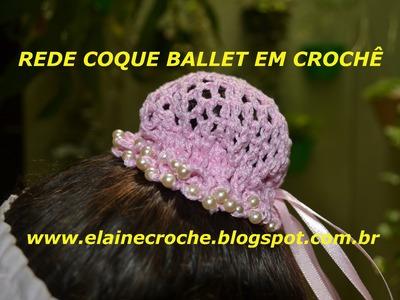 REDE PARA COQUE BALLET EM CROCHÊ