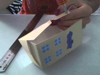 Tutorial de montagem Casa Peppa Pig