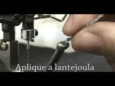 ZOJE - Aplicando Lantejoula na Máquina de Costura Reta