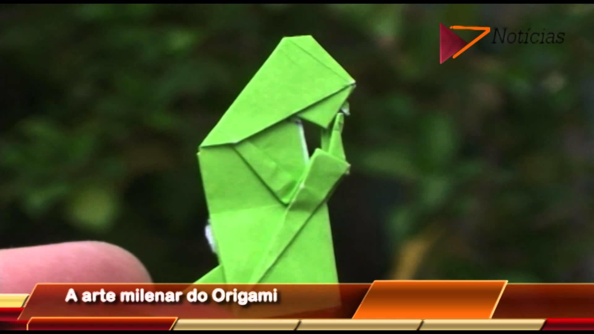A arte milenar do Origami
