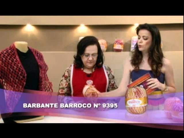 AF05 bloco 02 - Abajur de Tulipas - Colete - merengue de Morango
