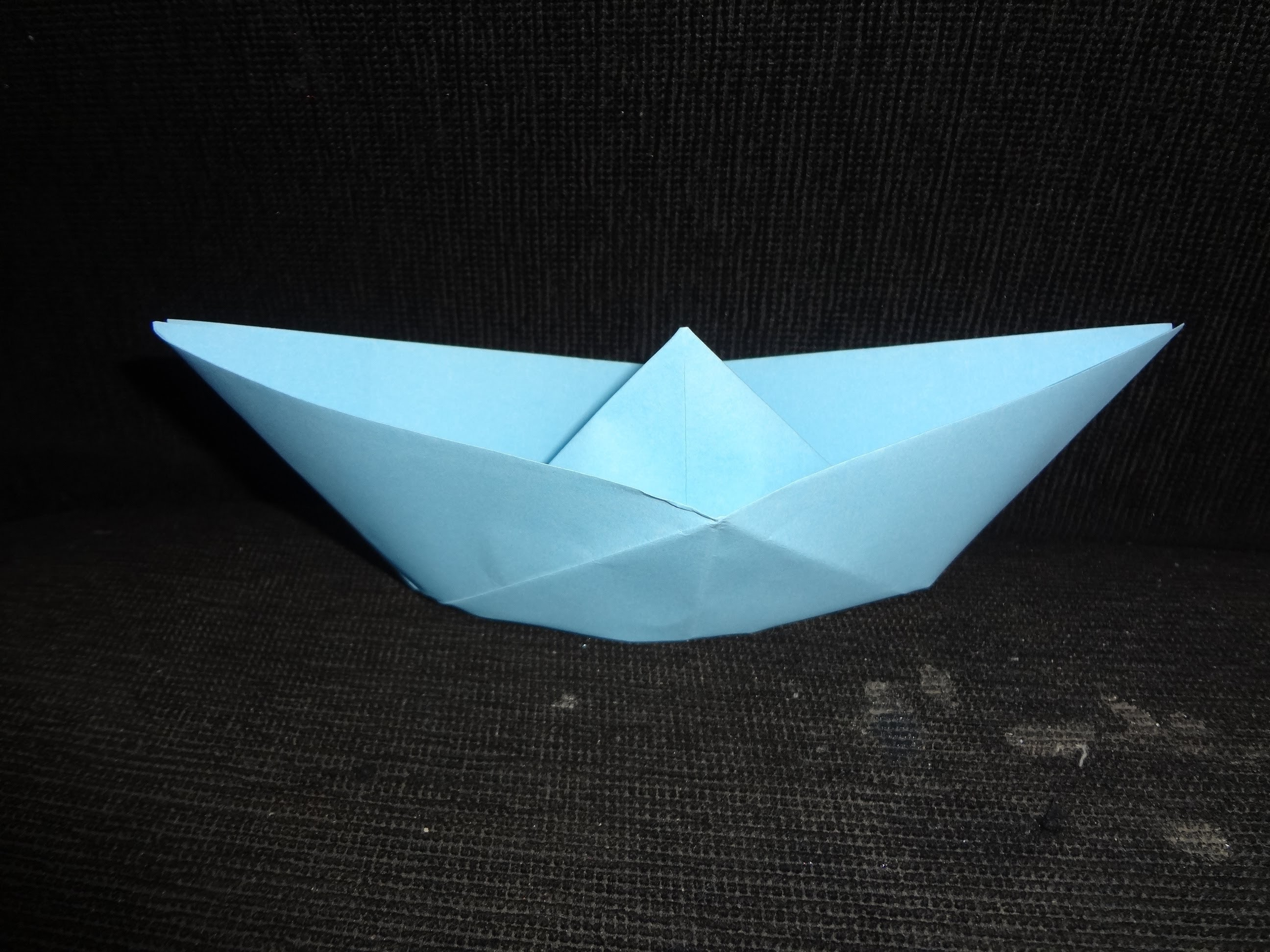 Barco origami