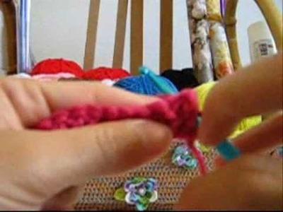 Croche - Guia de Pontos - Ponto Relevo Pego pela Frente