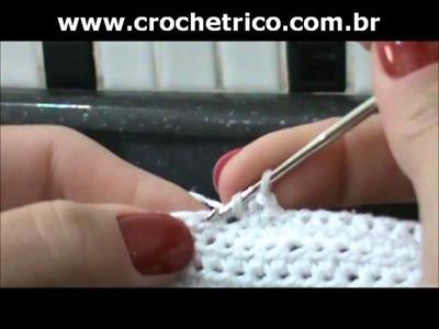 Crochet - Calcinha Branca - Parte 03.08