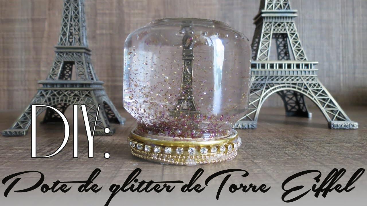 DIY | Pote Mágico de Torre Eiffel | Faça Você Mesmo