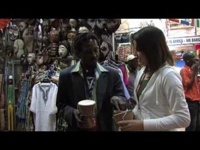 Mercado de Artesanato Africano . African Craft Market. Johannesburg, África do Sul
