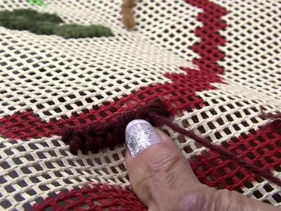 Mulher.com 14.08.2014 - Tepete Ponto Brasileirinho por Sueli Hebita - Parte 1