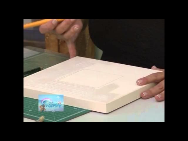 Passo a Passo: Decoupage com Papél Craft - Mansão das Artes