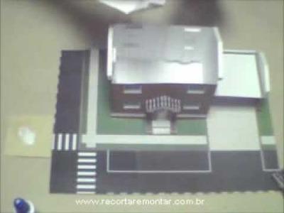 Recortar e Montar Papercraft - Miniatura HS002 - Video 4 - Montando.wmv