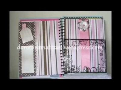 Scrapbook - Álbum 8 - Handmade with love by Dorothéa Matczak