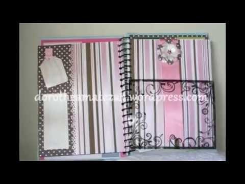 Scrapbook - Álbum 8 - Handmade with love by Dorothéa Matczak